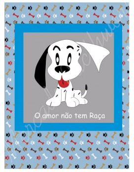 TECIDO SUBLIMADO BABY DOG AZUL - SCHUMMY