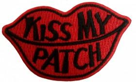 KISS MY PATCH Preto