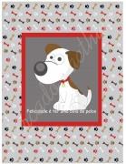 TECIDO SUBLIMADO BABY DOG BEGE - TINA