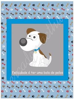 TECIDO SUBLIMADO BABY DOG AZUL - TINA