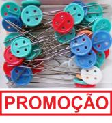 ALFINETE CABEÇA DE BOTÃO 50 UND