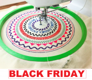 KIT PARA COSTURA CIRCULAR - Black Friday