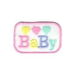 3 CORAÇÕES BABY RETANGULO ROSA