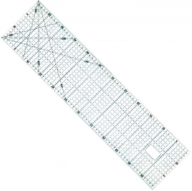 REGUA PARA PATCHWORK 15 X 60CM