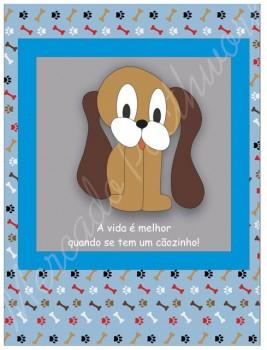 TECIDO SUBLIMADO BABY DOG AZUL - MARLEY
