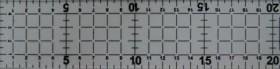 REGUA PARA PATCHWORK 5CM X 60CM FADIMEX