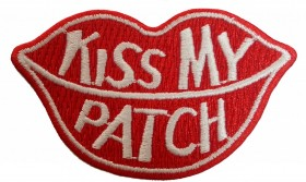 KISS MY PATCH Branco