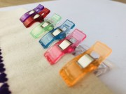 CLIPS COLORIDOS PATCHWORK PEQUENO